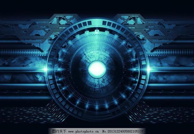 矢量图 现代科技  72dpi jpg 背景底纹 底纹边框 黑色 金属 科技 科技