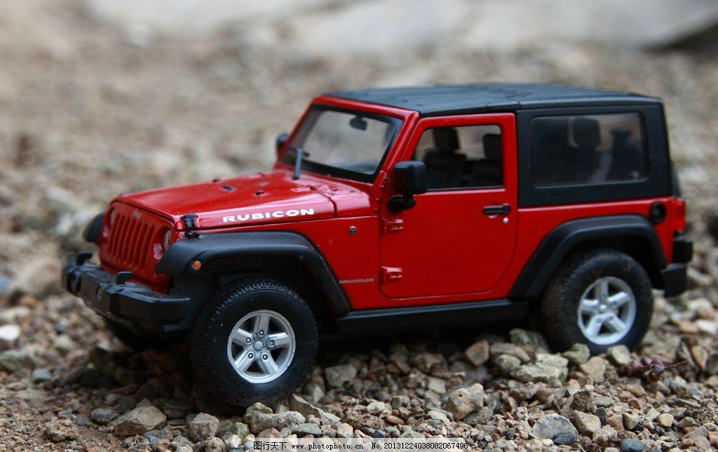 jeep 牧马人车模图片