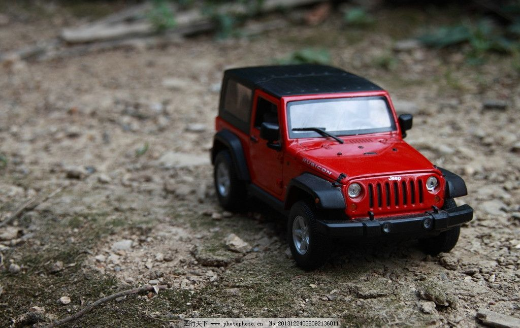 jeep牧马人 车模图片