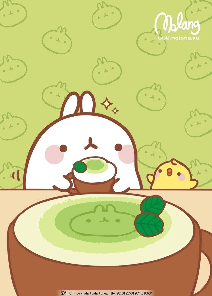 兔子 卡通 动物 可爱图片