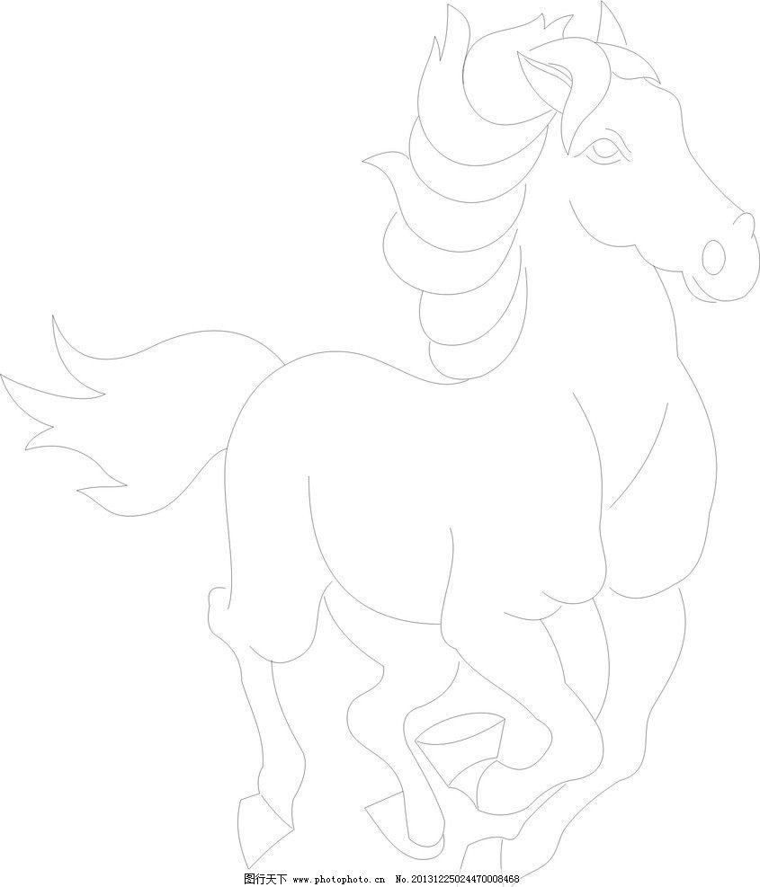 动物线描画写实