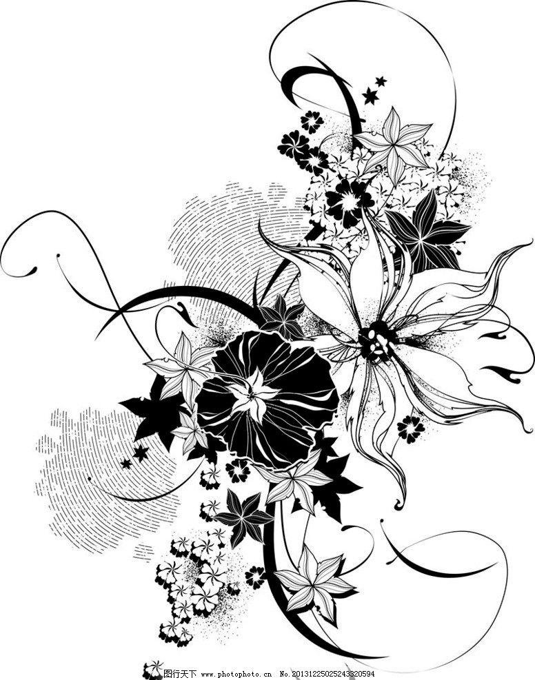 花朵花纹图片_树木树叶