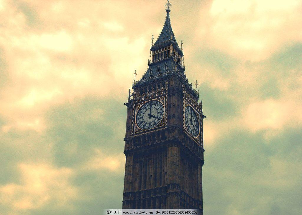 英国大本钟 旅游 高清风景