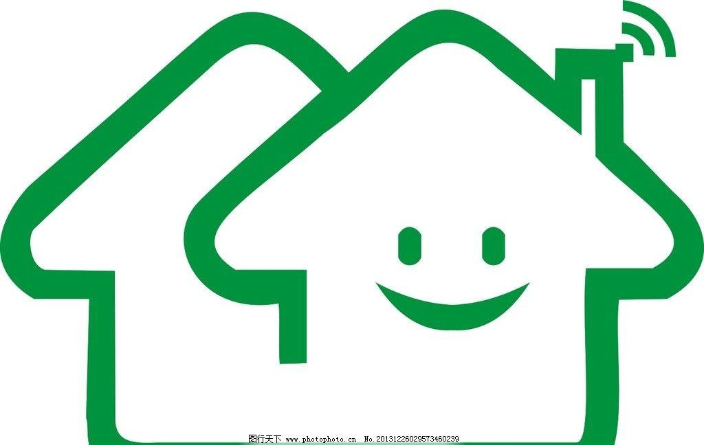 房子构造 笑脸房子 笑脸 房子 房屋轮廓 美丽家园 广告设计 矢量 cdr