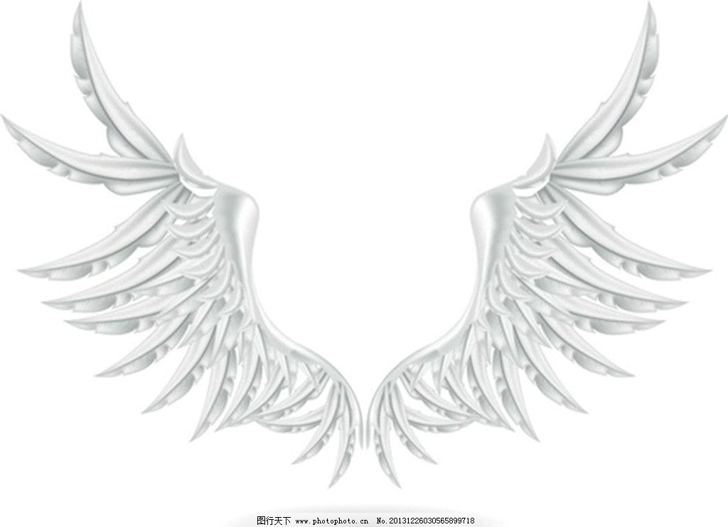 恶魔翅膀手绘图片大全