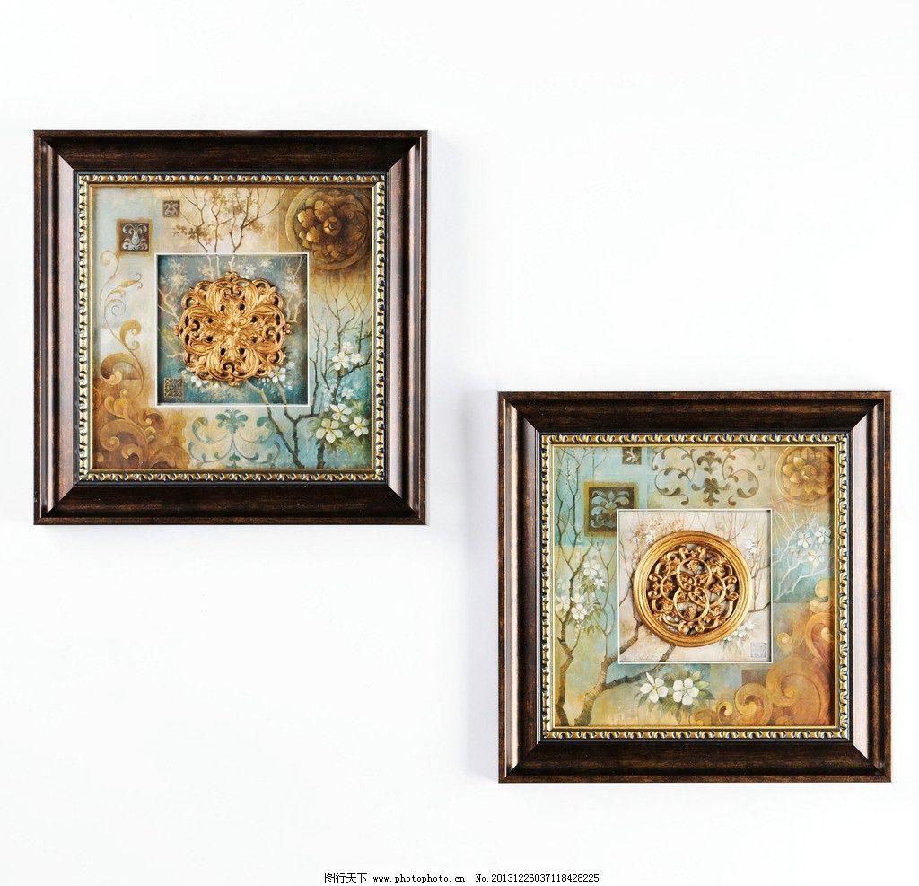 欧式家居工艺品挂画图片