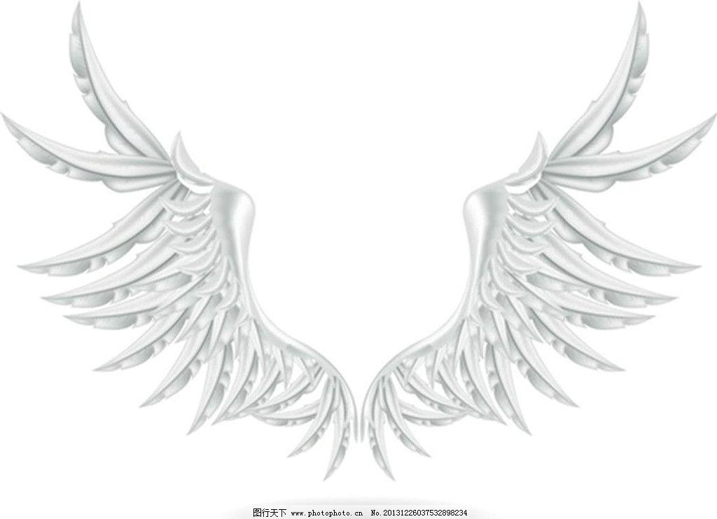 恶魔翅膀图片简单画法
