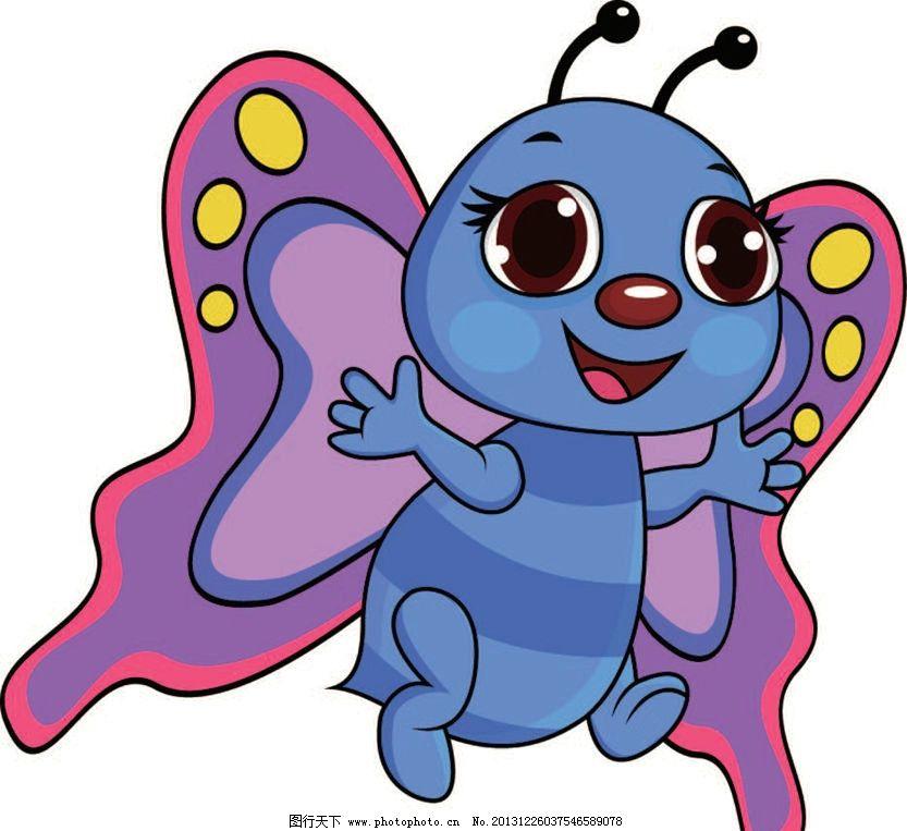 蜜蜂卡通动物 动画片 儿童 通话 可爱 小动物 野生动物 动物卡通