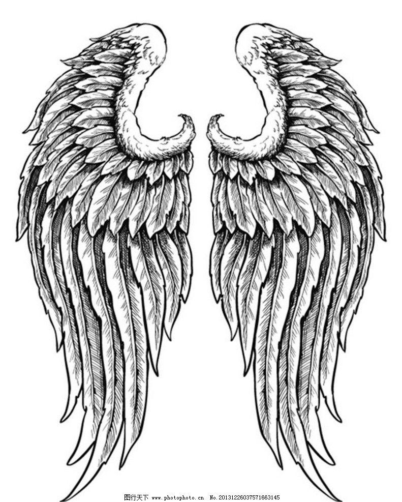 翅膀怎么画简笔画步骤