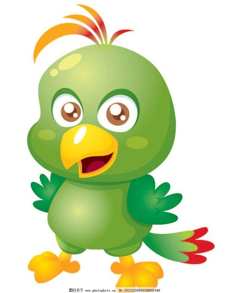 小鸟卡通动物 小鸟 卡通动物 动画片 儿童 通话 可爱 小动物 野生动物