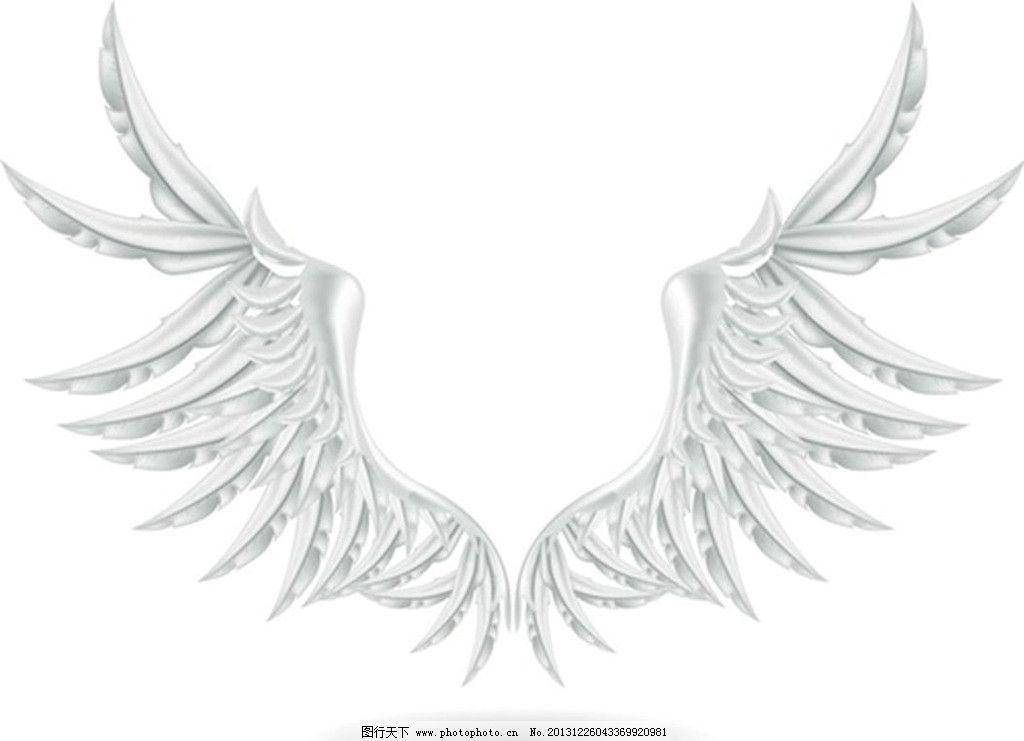 翅膀 天使翅膀 翅膀设计 恶魔翅膀 宗教 基督教 纹身图案 广告设计