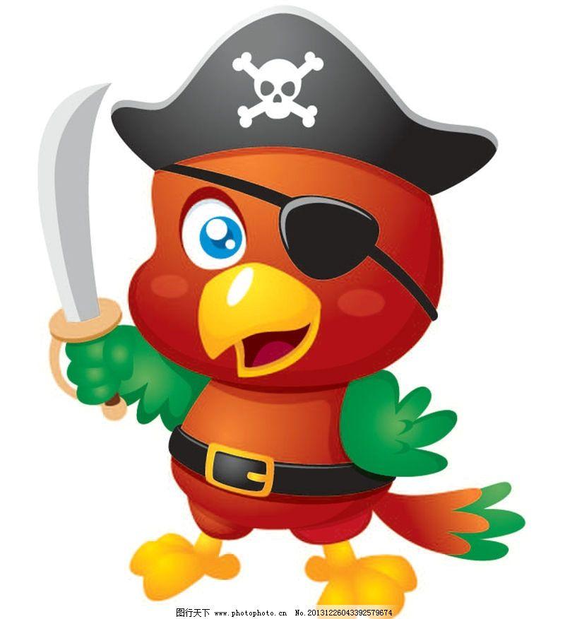 鹦鹉卡通动物 鹦鹉 卡通动物 动画片 儿童 通话 可爱 小动物 野生动物