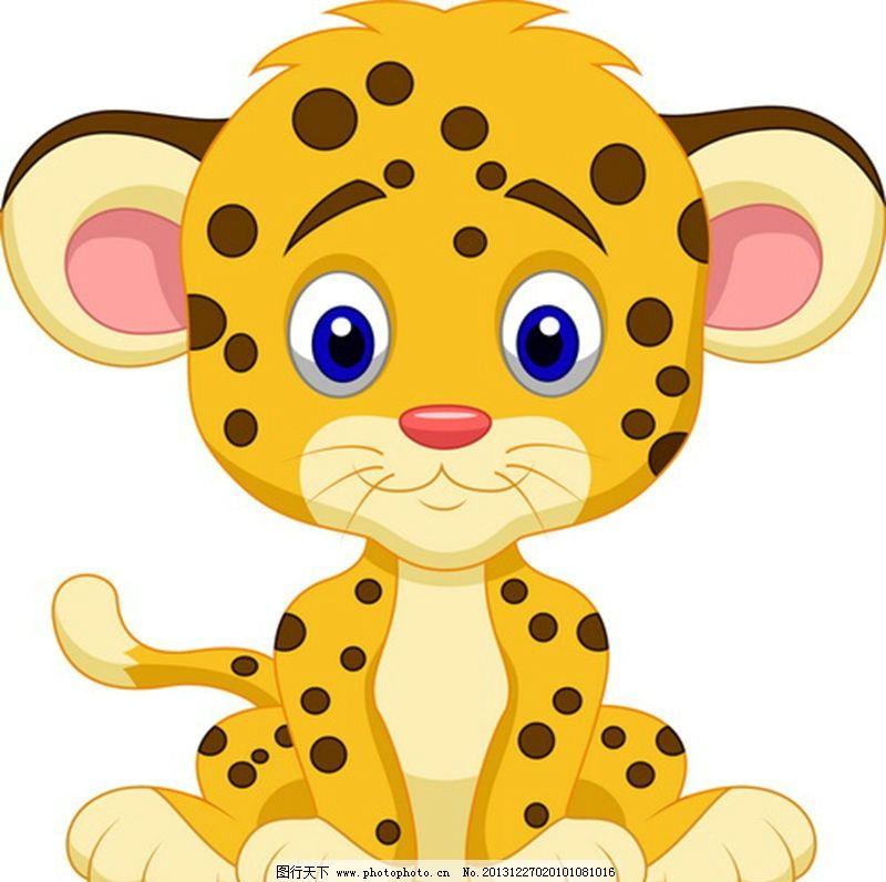 小豹子图片,猎豹 欧美卡通 美式卡通 美式风格 美国