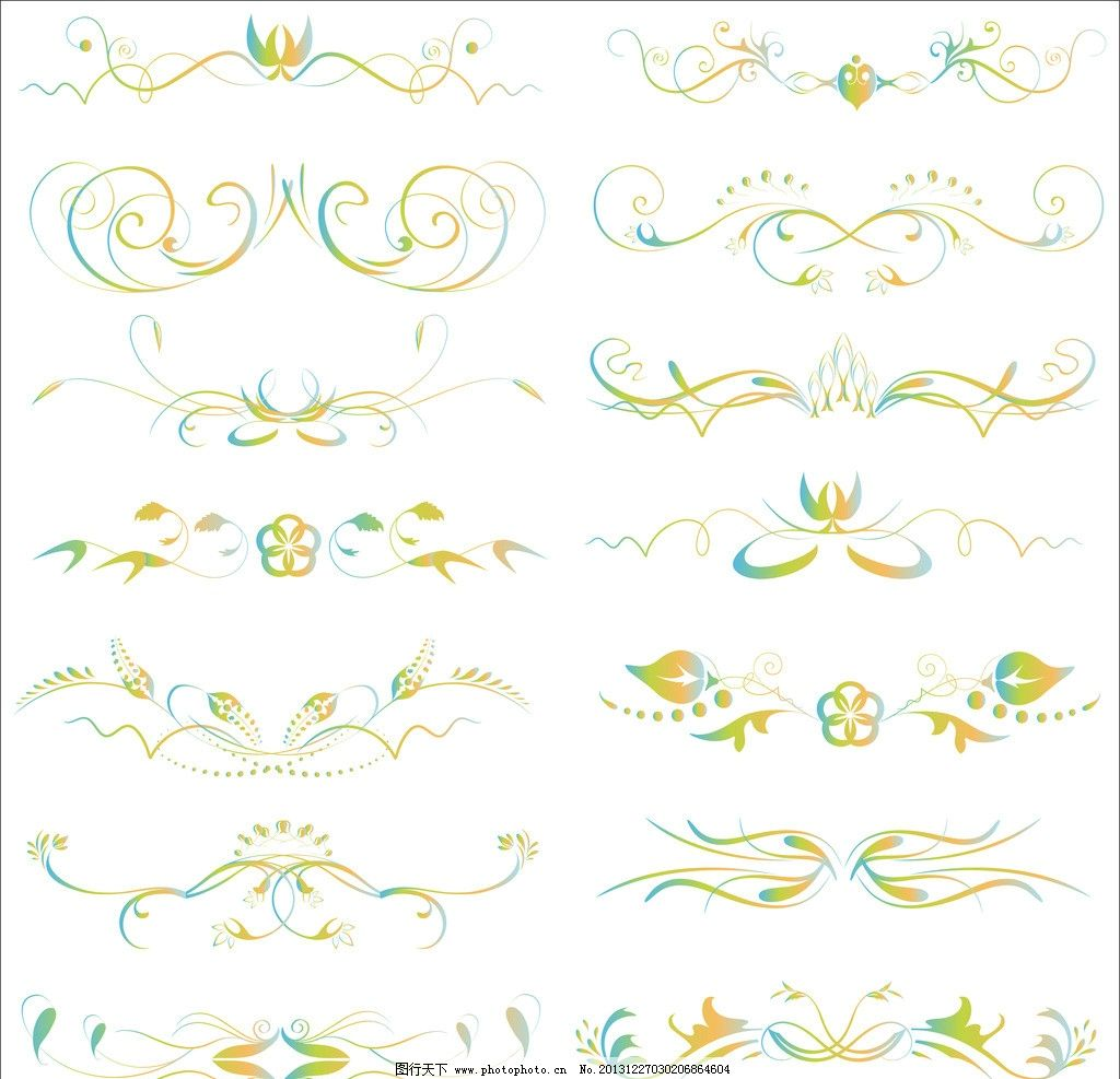 欧式花边 花边 花纹 边框 手绘画 插画设计 广告设计 矢量设计 矢量 a