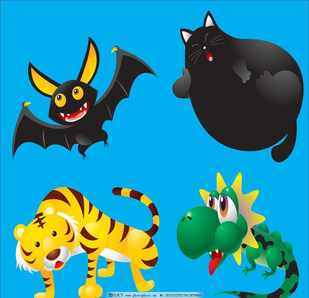 老虎 动物 小动物 动物世界 生物世界 广告设计 矢量设计 矢量 ai