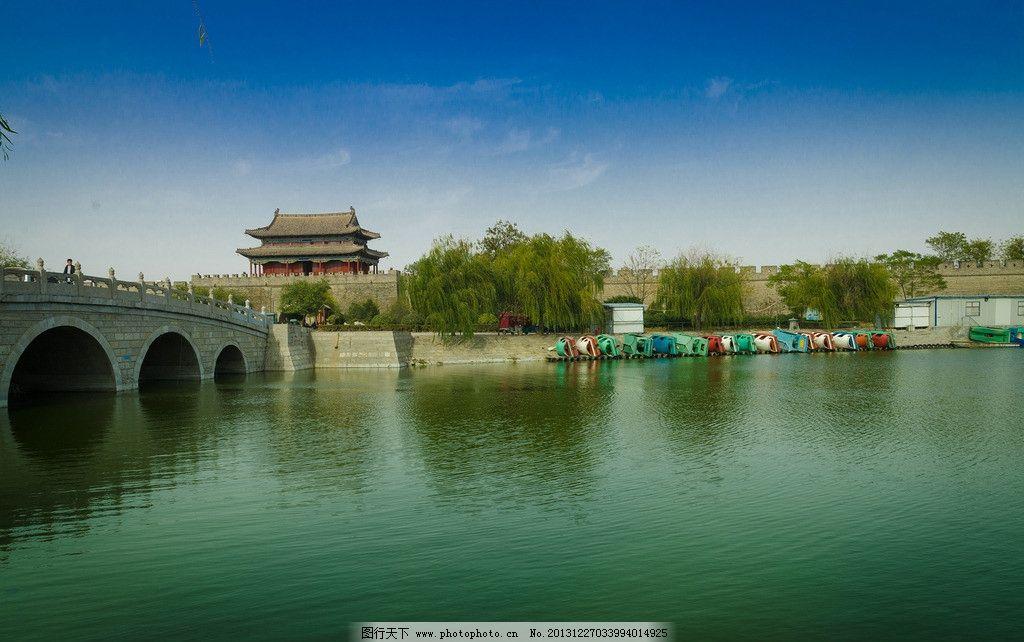 商丘古城南湖 旅游 风光 风景 国内旅游 旅游摄影