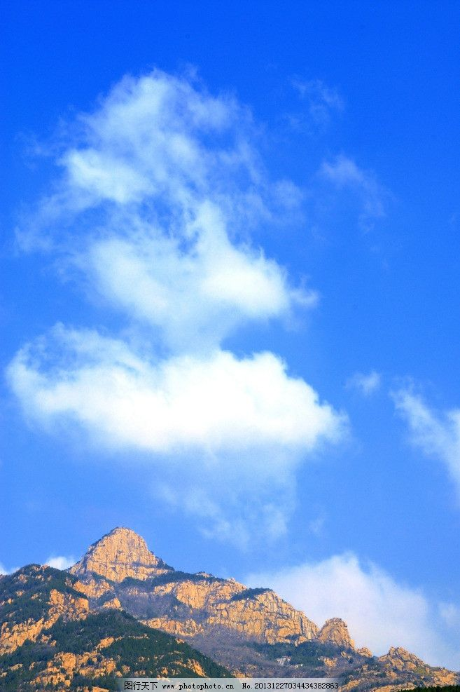 泰山风景图片大全山水真实