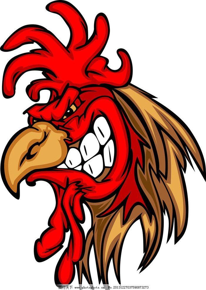 欧美卡通设计 公鸡 大公鸡 美式卡通 美式风格 美国卡通 卡通人物图片