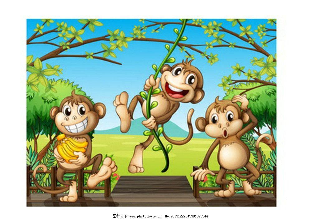 猴子图片_ppt图表_ppt_图行天下图库