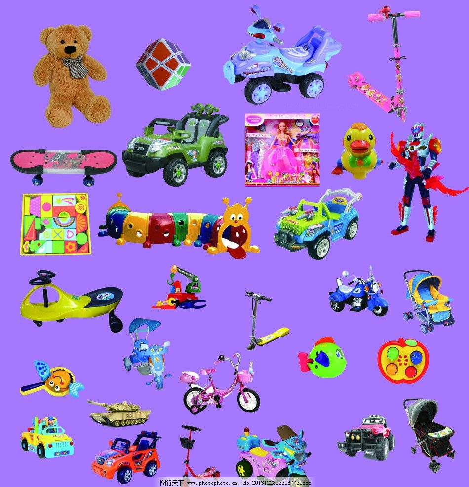 多款儿童玩具图片