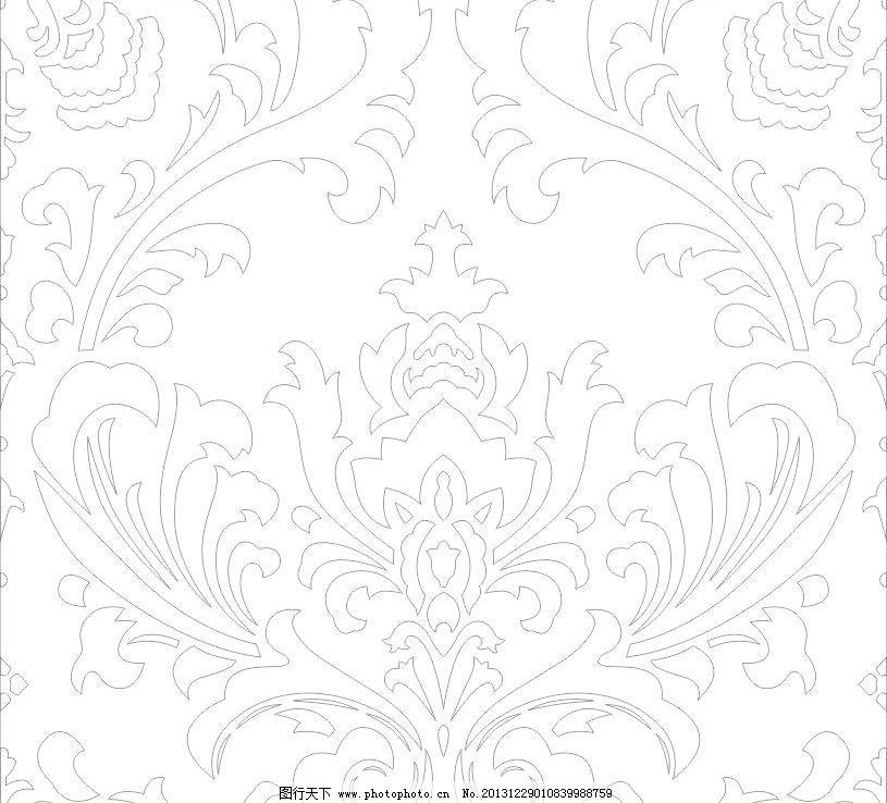 欧式花纹矢量素材 欧式花纹模板下载 欧式花纹 欧式 花纹 底纹边框