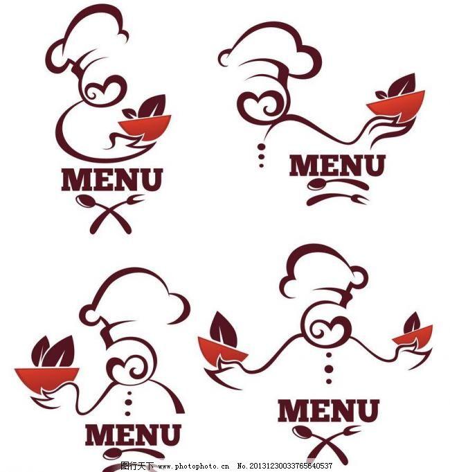 中餐饭店手绘素材