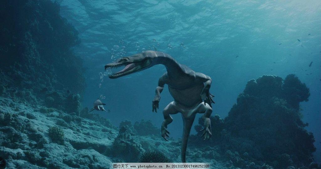 雷克斯海 史前生物 史前世界 古生物 中生代 海洋爬行动物 其他 生物