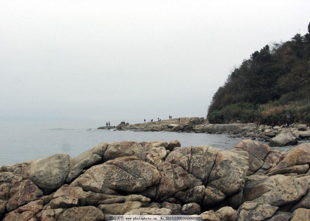 海岸线 大海 海岸 海边 焦石 岩石 天空 户外 山水风景 自然景观 摄影