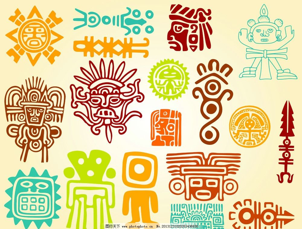 图腾 花纹图腾 欧式花纹 纹身 古文化 花纹 底纹 花边 边框 图腾背景