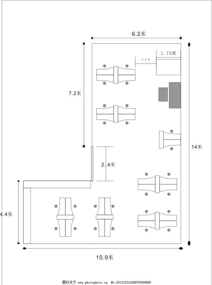 平面图 平面素材 平面模板 会展设计 会展中心 三维设计 展厅