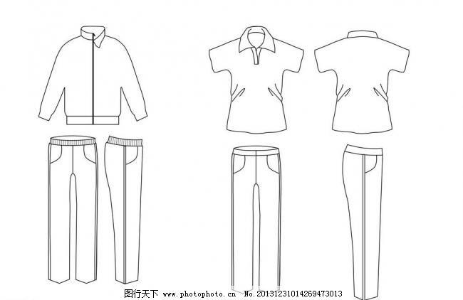 手绘校服设计步骤