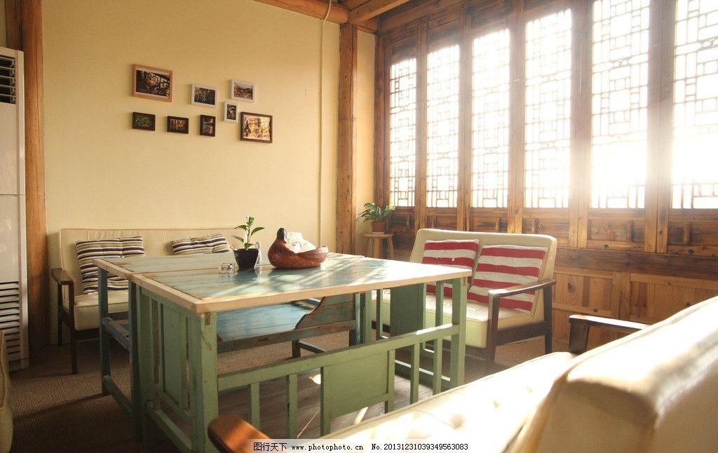 梅花洲蜜桃咖啡馆 梅花洲 午后时光 休息 咖啡馆 奶茶铺 窗户 桌椅