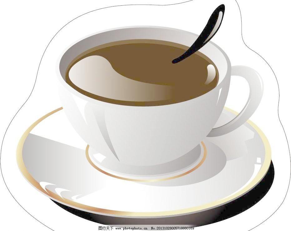 咖啡杯图片免费下载,AI,碟子,咖啡杯矢量素材,勺子,生活百科,生活用品