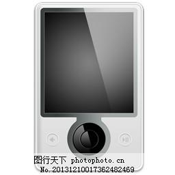 手机mp3图标素材采集大赛图片 Icon 界面设计 图行天下素材网